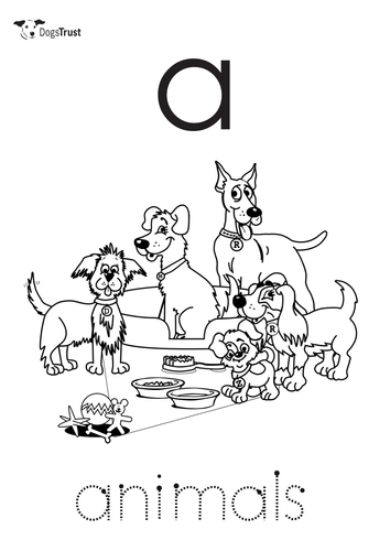 Alphabet resource. For 3-5 year olds