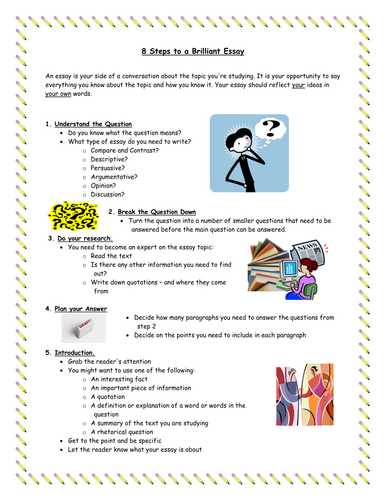 essay writing template by gobadine teaching resources tes recommended resources