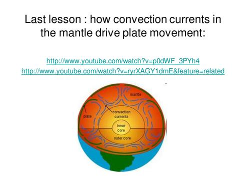 Tectonics, plate boundaries lesson