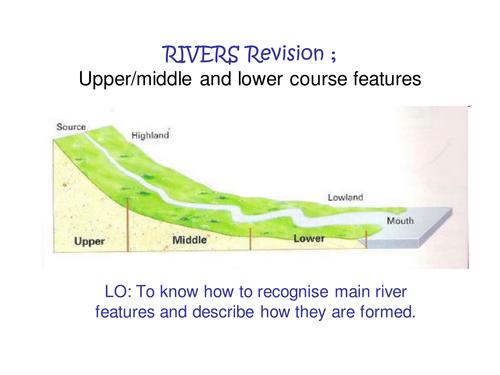 River landforms revision