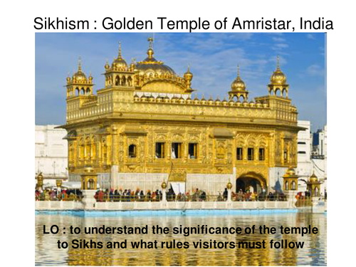 Sikhism Golden Temple lesson by victoriabennett - Teaching ...