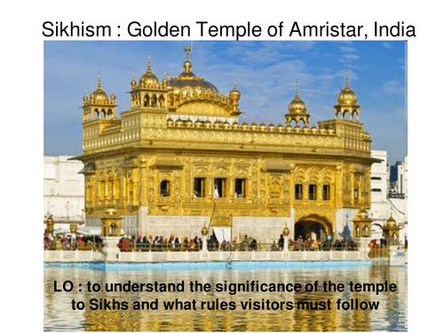 Sikhism Golden Temple lesson