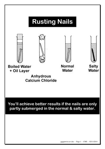 Rusting Activity