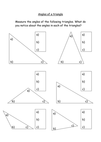 Missing Exterior Angles in Triangles likewise Triangles   Angles of Triangles Color By Number Wintery Worksheet moreover Angles Worksheets   Free   Easier to Grade   Customizable additionally The Missing Angle  Triangles   Worksheet   Education besides Angles   Triangles Worksheets   set of 3   Geometry Basics besides Angles in Triangles and on Parallel Lines  1  Worksheet  With also Triangles Worksheets further Congruent Triangles Worksheet   Problems   Solutions as well Geometry Worksheets   Triangle Worksheets further Math Worksheets With Triangles474353 Myscres Triangle Angles together with  also Math Triangle Worksheets   Free Printables Worksheet additionally Measuring angles in a triangle likewise Kaynak görüntüyü görüntüle   Matematik   Pinterest   Angles in addition 4th Grade Geometry additionally Triangle Angles   Worksheet   Education. on angles in a triangle worksheet