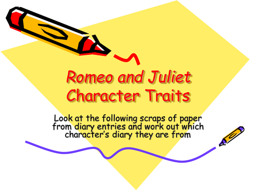 romeo and juliet character analysis pdf