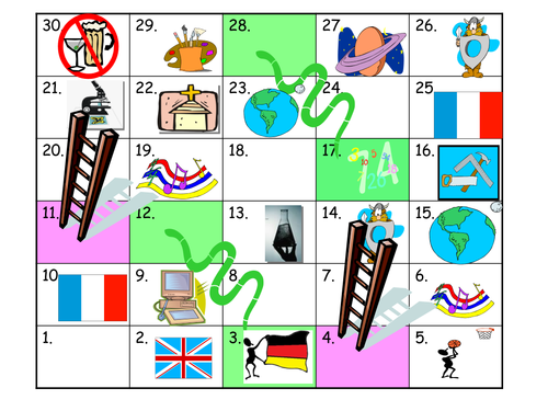 Generic Snakes and Ladders poss MFL