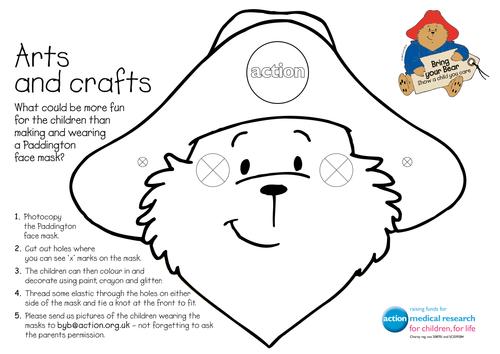 Create a Paddington Bear mask
