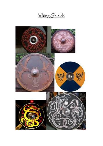 Viking Shields Images