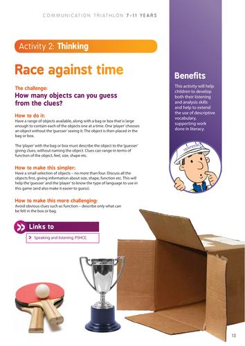 Communication Triathlon Race Against Time