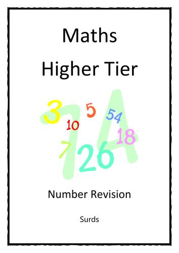 GCSE Revision Booklet - Surds