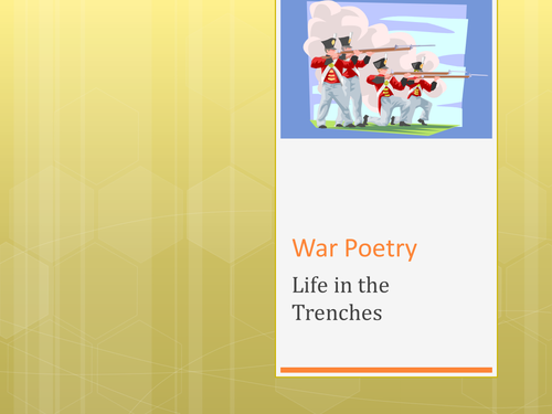 Suicide in the Trenches - war poetry