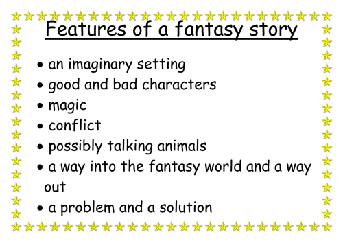 Features of a fantasy | Teaching Resources