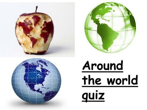 Around the world quiz