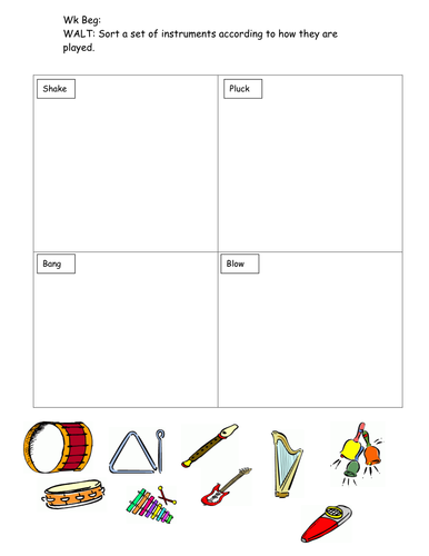 Sound and Hearing Worksheet by sarahdawnrees - Teaching Resources ...
