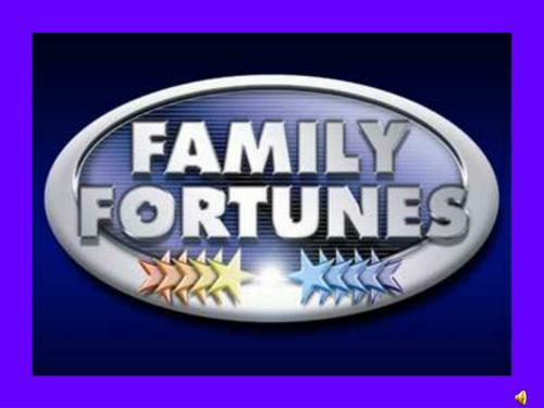 GCSE PE Powerpoint Family Fortunes
