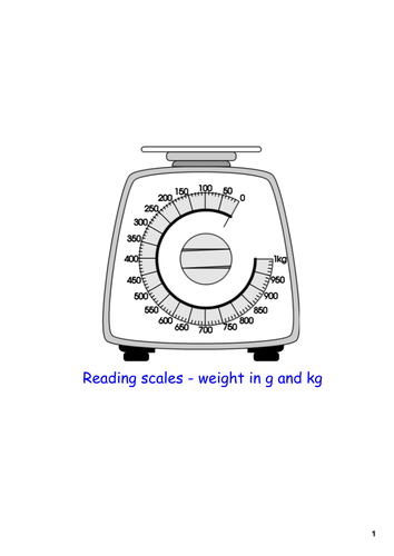 how to read a standing weight scale