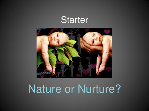 what is nature v nurture