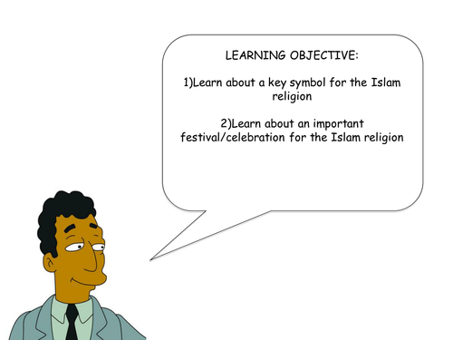 Islam Symbols And Festivals By Michaelgamble Teaching Resources