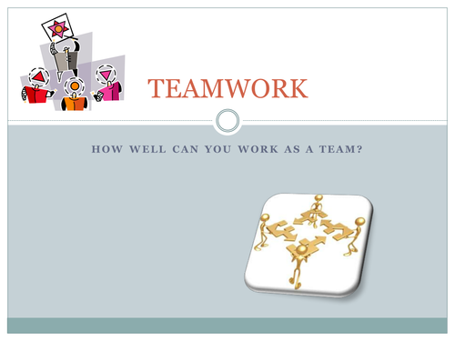 Team work by janeh271 Teaching Resources Tes – Teamwork Worksheets