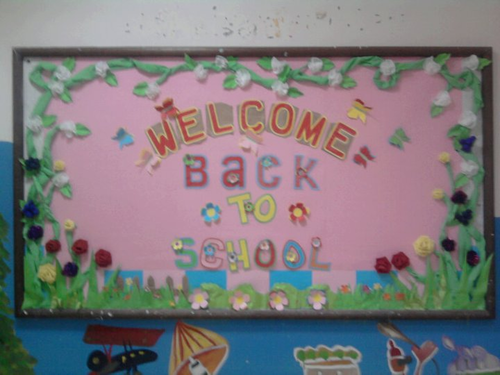 Display Board's Welcome Back to School