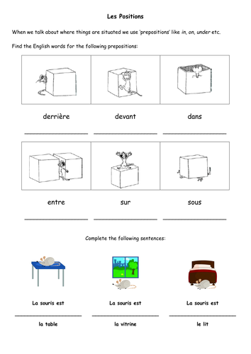 prepositions worksheet by sarah2209 teaching resources. Black Bedroom Furniture Sets. Home Design Ideas