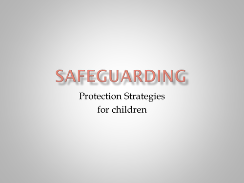 unit 516 understand safeguarding of children