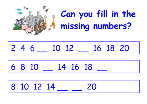 Number Names Worksheets : count by twos worksheet ~ Free Printable ...