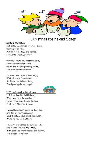 Children Christmas Poem.Christmas Poems