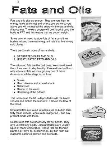 Fit and Healthy 5 Fats and Oils facts