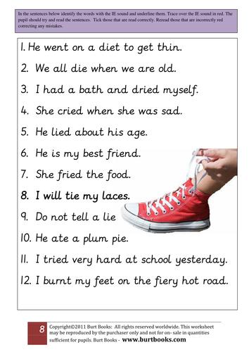 IE sound  worksheet 2