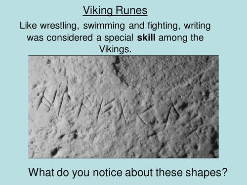The Vikings, Runes