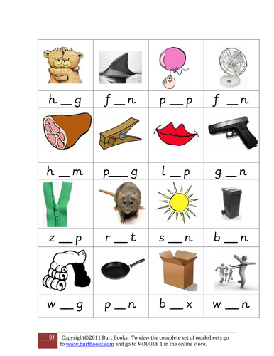 Rhyming words resource pack- Letters and Sounds, phonics, rhyme by ...