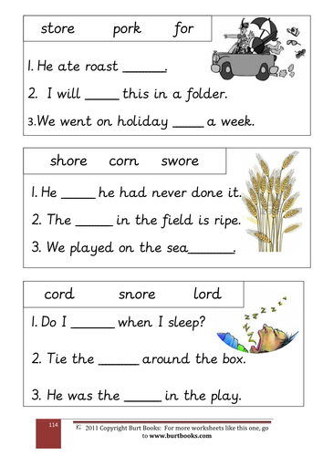 Special Sounds Worksheets : Phonics the or sound by coreenburt teaching resources tes