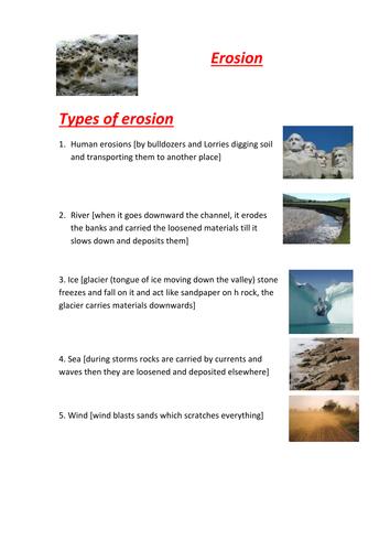 Erosion Types