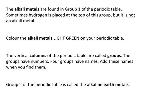 Periodic table colour in by richcrum teaching resources tes urtaz Choice Image