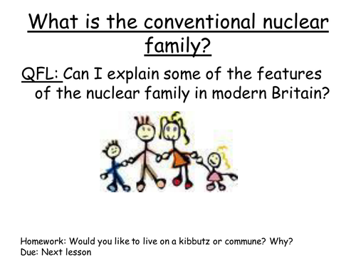 what is a nucleus family