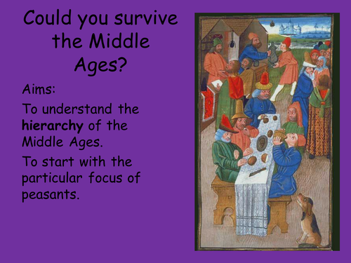 Could you survive the Middle Ages? (1)