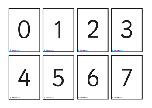 Dynamite image with regard to printable number cards