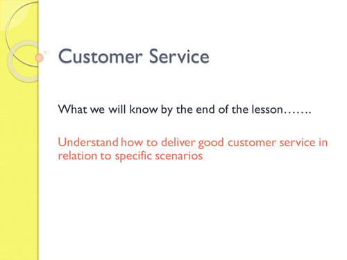 Customer Service Traits