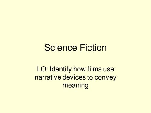 Sci fi film introduction