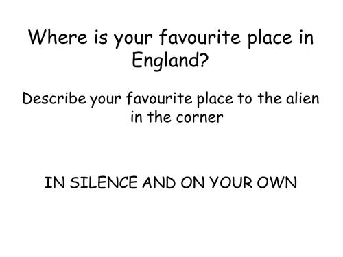 Exploring England - Where in England?