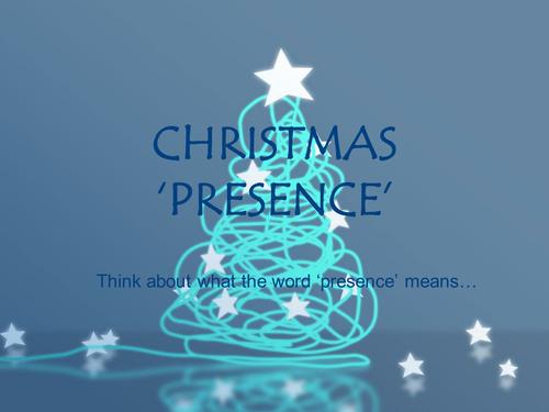 Christmas 'Presence' assembly