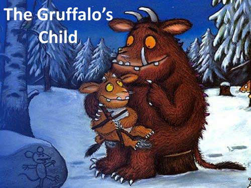 The Gruffalo S Child Story With Adjectives By Kayld