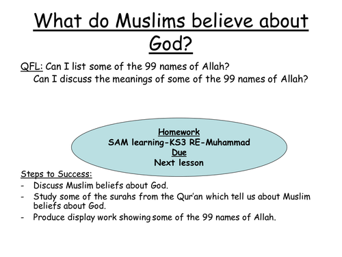 99 Names Of Allah By JodiP