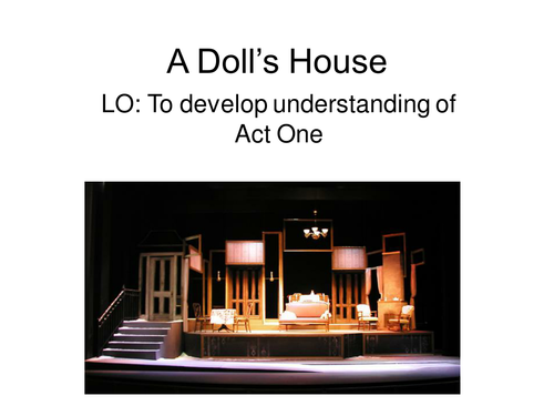 a dolls house act 1