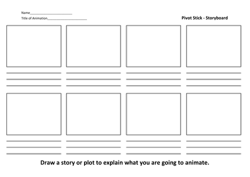 Storyboards by kiteshmistry teaching resources tes for Magazine storyboard template