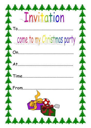 Healthy and unhealthy foods by klewis21 teaching resources tes christmas party invitation template stopboris Image collections