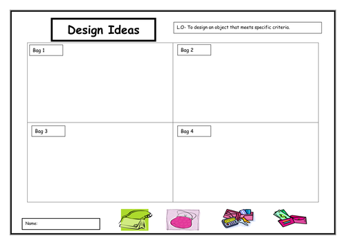 D t bags by oliviahunt teaching resources - Design and technology lesson plans ...