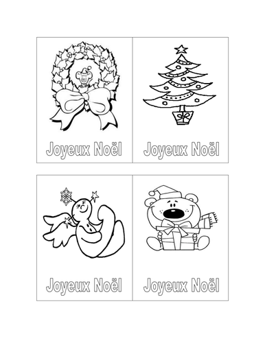Sample French Christmas Letter.  French Christmas cards by frenchgerman Teaching Resources Tes