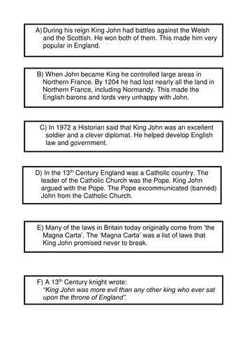 Was King John a bad king?